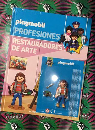 PLAYMOBIL PROFESIONES 36 RESTAURADORES DE ARTE