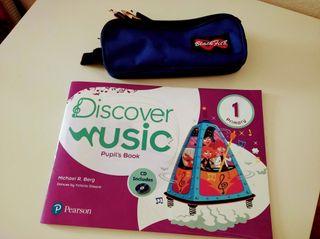 Libro de música 1º primaria. Pearson.