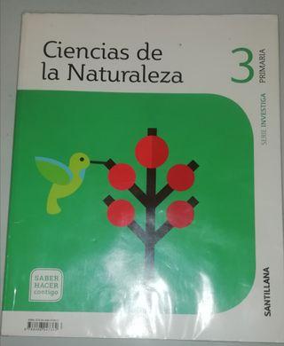Ciencias de la Naturaleza 3°primaria