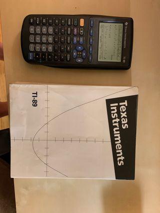 calculadora grafica TI-89 + cable