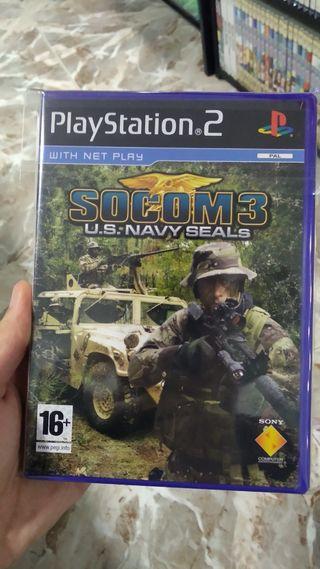 SOCOM 3 para Play Station 2