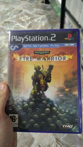 Warhammer Fire Warrior para Play Station 2