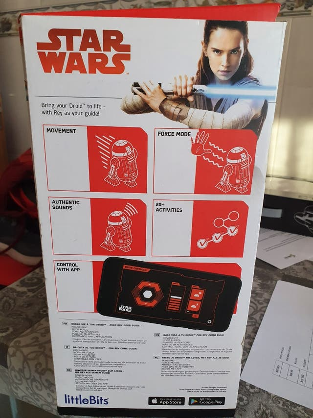 Droid inventor kit Star Wars