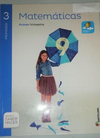 Matemáticas 3°primaria