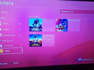 Playstation account with 12 months of Ps plus