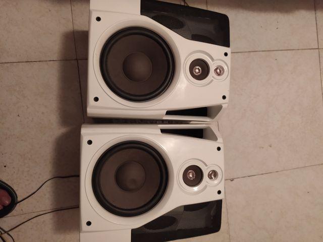 altavoces se venden juntos los dos x10