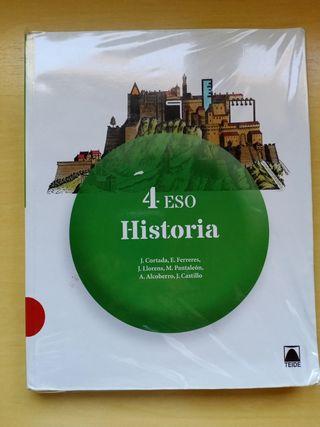 Libro Historia de Cuarto ESO