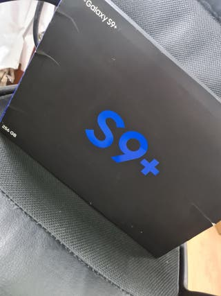 SAMSUNG S9 PLUS 256GB NEGRO