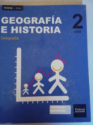 libro de geografía 2°ESO