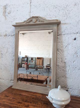 Gran espejo francés