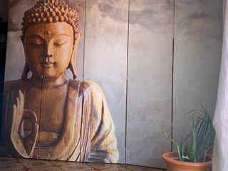 oferta!! biombo súper chuli Budha