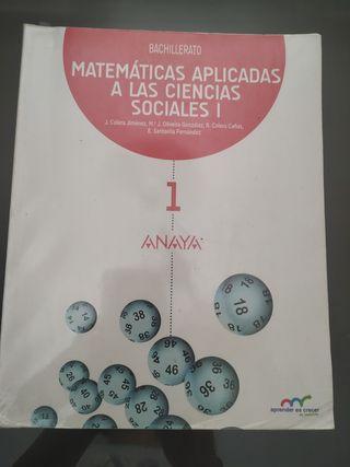 libro matemáticas 1 bachillerato ciencias sociales