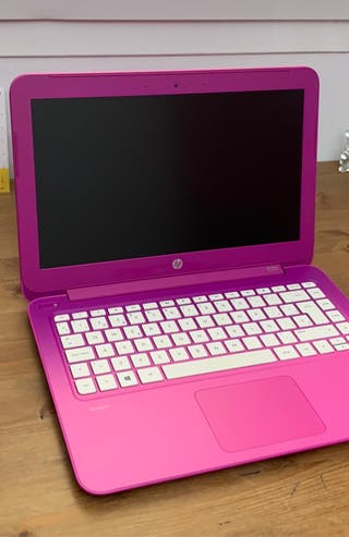 Portátil rosa HP