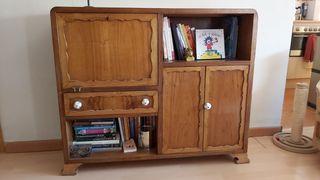 Mueble bar madera vintage
