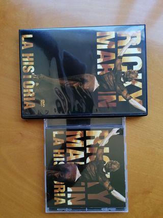 Ricky Martin la historia cd y dvd