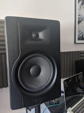 Altavoces M Audio Bx8 D3 (last mode)