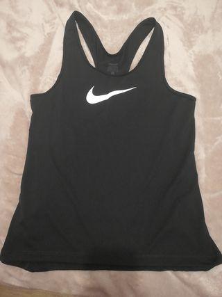 camiseta tirantes Nike mujer
