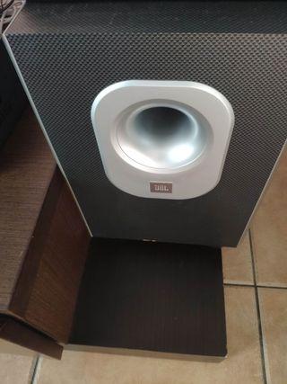 home cinema amplificador Teac 5.1+altavoces JBL