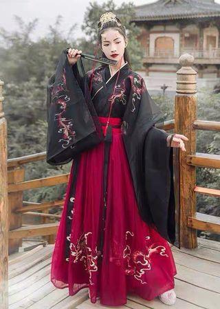 Ropa tradicional China (Hanfu)