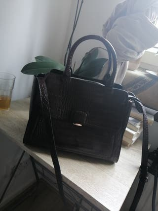 Zara Bordeaux Handbag