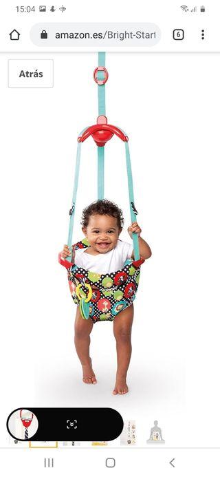 Saltador Bright Starts columpio puerta bebé