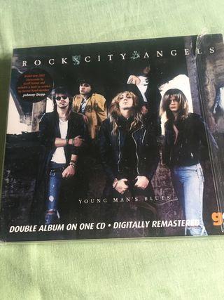 "Rock City Angels ""Young man's blues"""