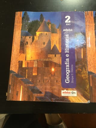 Libro geografía e historia 2 eso