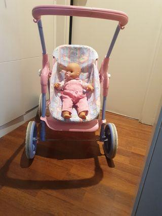 carrito muñecas