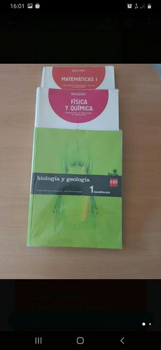 2 Libros de 1° bachiller.