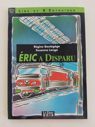 """Libro lectura francés """"Eric a disparu"""""""