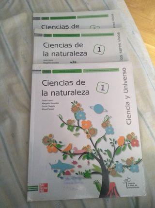 Ciencias de la naturaleza de primero de la ESO.