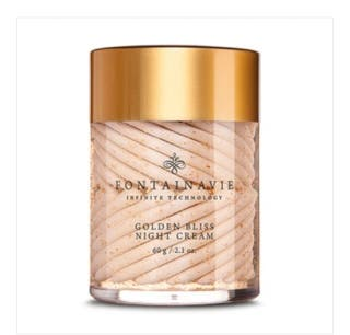 Golden bliss night cream with 24 carat gold