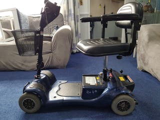 Rio 4 plus mobility scooter in blue