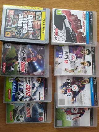 8 juegos Ps3