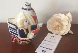 Carabela cerámica Sargadelos. Edic. Limitada 1992