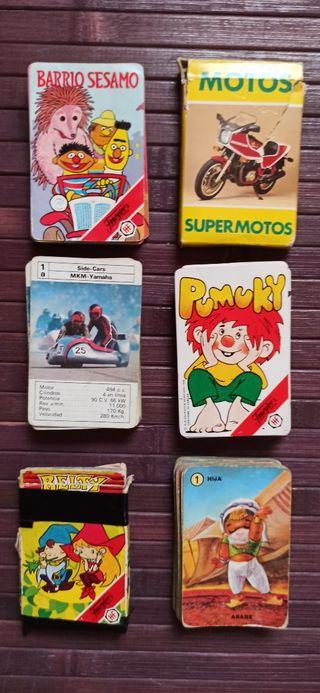 Lote Barajas Fournier retro 80s 90#s
