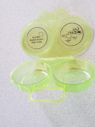 cocedero de huevos microondas