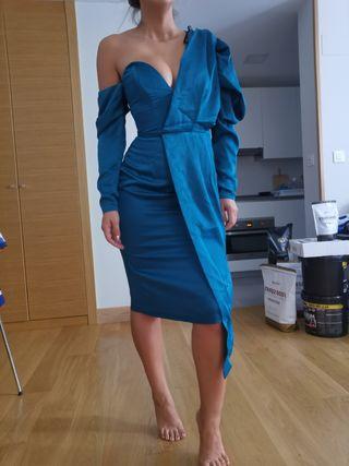 Precioso vestido asimetrico ocasión/cocktail