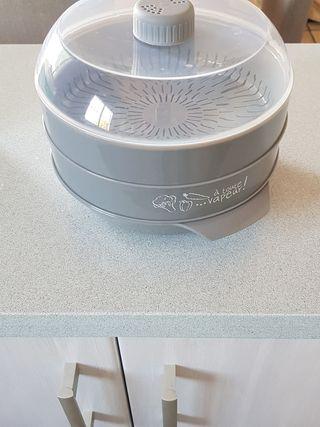 vaporera para microondas