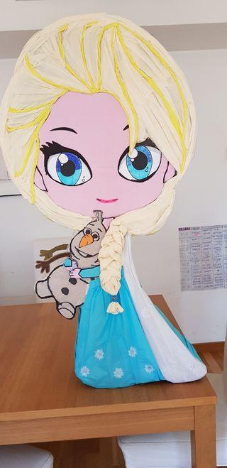 Piñata Elsa Frozen
