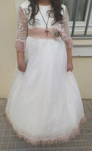 Vestido de comunion,talla 12