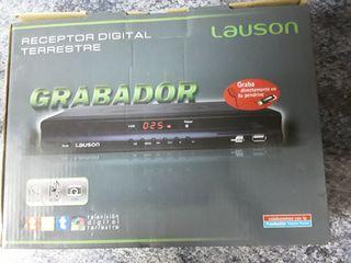 TDT grabador marca LAUSON