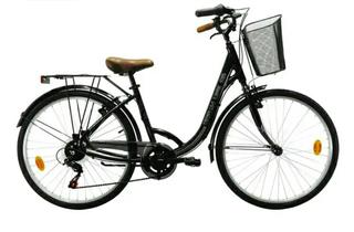 Bicicleta de paseo con marchas.
