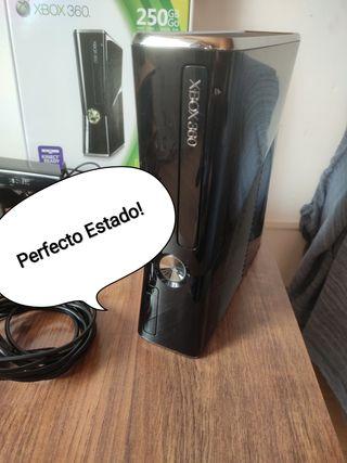Xbox 360 Perfecta! 250Gb +30Juegos+2Mandos +Kinect