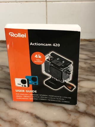 Cámara acuática Rollei 4K