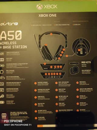 Auriculares Gaming - Astro A50, Estación base