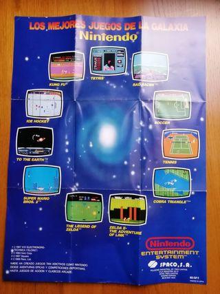 Póster NES Los Mejores Juegos de la Galaxia