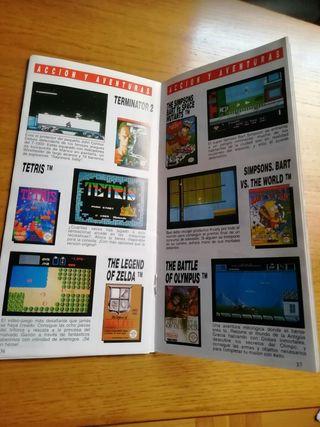 Catálogo de Juegos NES 1993