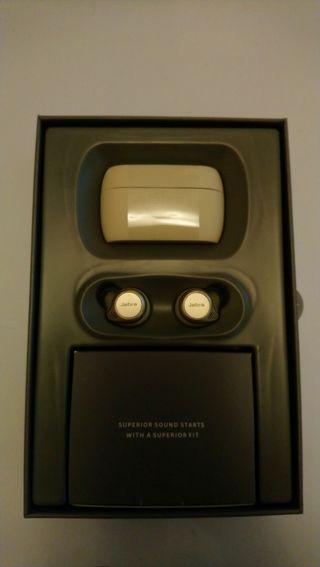 jabra Elite 75t Earbuds in beige