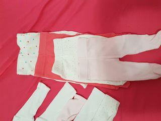 lote de bodys y pantaloncitos